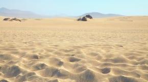 Abandone la arena Foto de archivo libre de regalías