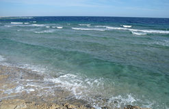 Abandone la bahía en la región del Mar Rojo, Egipto Imagen de archivo libre de regalías