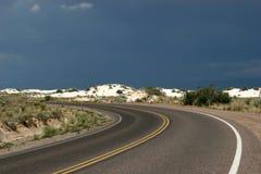 Abandone la carretera Imagen de archivo libre de regalías
