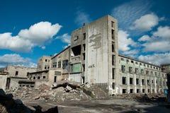 Abandone la fábrica Imagenes de archivo