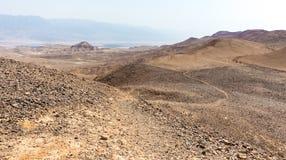 Abandone la opinión del paisaje del valle de las montañas, naturaleza que viaja de Israel Foto de archivo libre de regalías