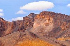 Abandone las arenas del volcán de Teide en Tenerife, España Imagen de archivo libre de regalías