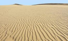 Abandone las dunas de arena en Maspalomas, Gran Canaria Imágenes de archivo libres de regalías
