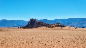 Abandone las dunas de arena en Namibia meridional tomada en enero de 2018 Fotografía de archivo