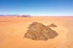 Abandone las dunas de arena en Namibia meridional tomada en enero de 2018 Fotografía de archivo libre de regalías