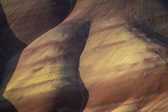 Abandone las formas y los colores, colinas pintadas, Oregon Fotos de archivo libres de regalías