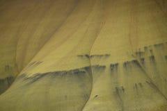Abandone las formas y los colores, colinas pintadas, Oregon Imagen de archivo