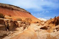 Abandone las montañas en Kazakhstan Imagen de archivo libre de regalías