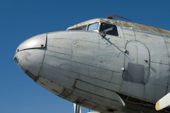 Abandoned Aircraft (Details) Royalty Free Stock Images
