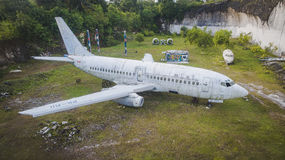 Abandoned aircraft Stock Photo