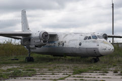 Abandoned Airplane Royalty Free Stock Photography