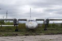 Abandoned Airplane Royalty Free Stock Photos