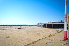 Abandoned airport Stock Photo