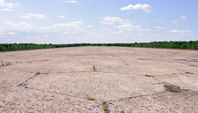 Abandoned airstrip Stock Images