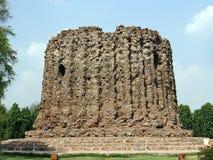 The abandoned Alai Minar at Qutub Complex, Delhi Stock Photos