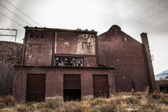 Abandoned  Alquife Mines Royalty Free Stock Images