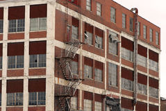 Abandoned american factory Stock Photo