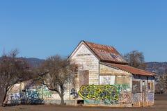 Abandoned American Farmhouse Royalty Free Stock Photo