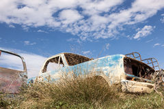 Abandoned american pickup truck Royalty Free Stock Photo