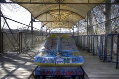 Abandoned Amusement Park Stock Images