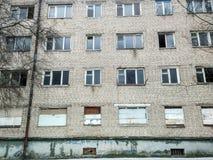 Abandoned apartment buildimg Royalty Free Stock Photo