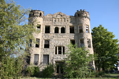 Abandoned apartment building Royalty Free Stock Photo