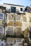 Abandoned Apartment house in Lisbon Stock Photos