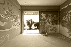 Abandoned apartment Stock Photos