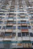 Abandoned apartment Stock Photo