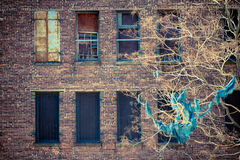 Abandoned Apartments Royalty Free Stock Images