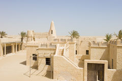 Abandoned Arabic village Royalty Free Stock Photography