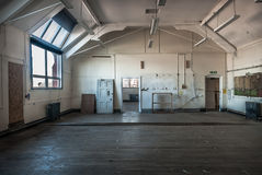 Abandoned Art Studio. Abandoned room in old derelict Art college Royalty Free Stock Photography