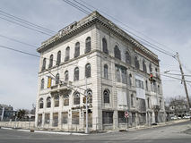 Abandoned  Asbury Park. An old abandoned building in Asbury Park New Jersey Royalty Free Stock Photos