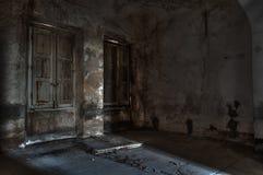 Abandoned asylum. Scene of abandoned asylumin hdr Royalty Free Stock Photography