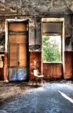 Abandoned asylum. Scene of abandoned asylum in hdr Royalty Free Stock Photography