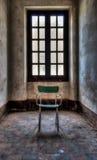 Abandoned asylum. Scene of abandoned asylum in hdr Stock Photos