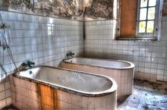Abandoned asylum. Scene of abandoned asylum in hdr Stock Photo