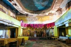 Abandoned auditorium Stock Images