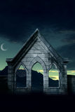 Abandoned Background. A premade haunted background for artists to use in their artwork Royalty Free Stock Photo