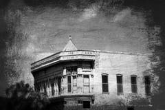 Abandoned 1892 Bank - Metropolis, IL Royalty Free Stock Photography