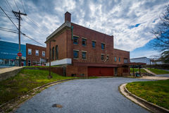 Abandoned bank in Mount Airy, Maryland. royalty free stock images