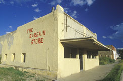 An abandoned bargain store, NM Stock Photos