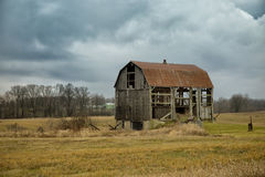 Abandoned barn in Canada Stock Images