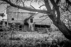Abandoned Barn in the Country Royalty Free Stock Photo
