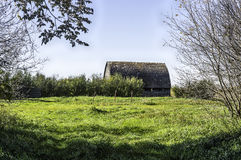 Abandoned Barn and Homestead royalty free stock images
