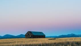 Abandoned barn. Royalty Free Stock Photography