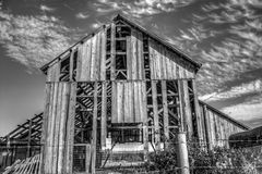 Abandoned Barn Royalty Free Stock Photography