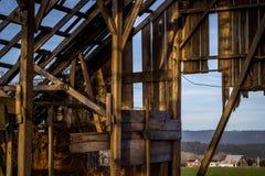 Abandoned Barn. An abandoned barn. Northern California, USA stock photography