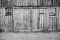 A Barn in Bodie, California royalty free stock photography