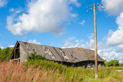 Abandoned barn Stock Image